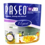 Paseo Kitchen Tissue Rolls (60 Sheets X 2 Rolls) 2 Ply