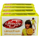 Lifebuoy Lemon Fresh Soap (4X125 Gm)