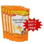 Santoor Hand Wash Essential Oils (Buy 3 Get 1 Free)