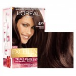 L'oreal Excellence Hair Color - 4.25 Aishwarya's Brown