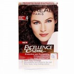 L'oreal Excellence Hair Color - 4 Natural Dark Brown