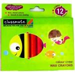Itc Classmate Wax Crayons Jumbo 12 Colour