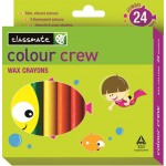 Itc Classmate Wax Crayons Jumbo 24 Colour